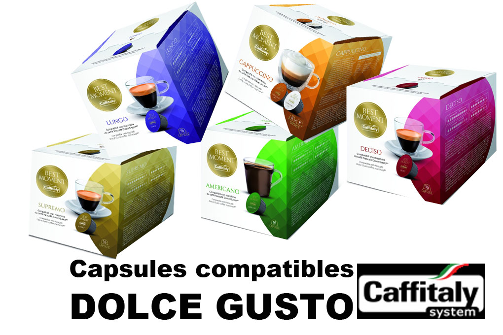 BEST MOMENT- Capsules compatibles DOLCE GUSTO